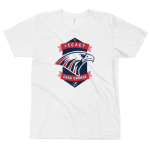 LTS Casa Grande Eagles White Logo T-shirt 2020